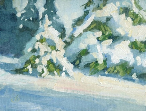 holiday_sale__8x10_inch_winter_snow_scene_by_tom_brown_099dfb8e7cf1b4a4e01bbee9436cd3d0